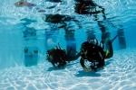 Ronjenje u montažnom bazenu - izložba fotografija