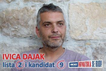 Predizborno predstavljanje: Ivica Dajak - iz Kune preko Splita, Orebića i Stankovića - u Sabor!