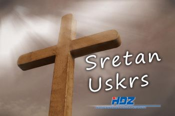 Uskrsna čestitka orebićkog HDZ-a