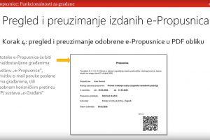 Kako do e-Propusnice - upute za korisnike i izdavatelje s područja općine Orebić!